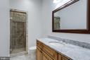 Full Bath in Lower Level - 815 BLACKS HILL RD, GREAT FALLS