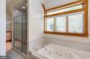 separate shower & tub - 815 BLACKS HILL RD, GREAT FALLS