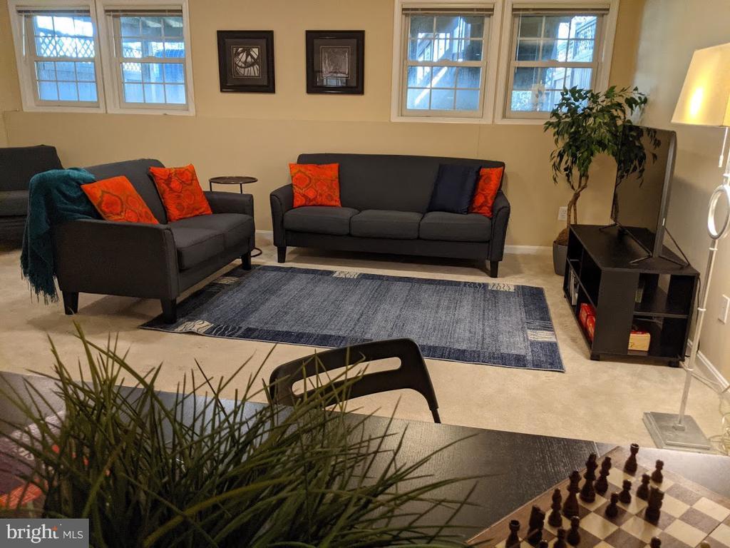 Rec-room view - 10481 COURTNEY DR, FAIRFAX