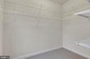 Walk-in closet - 11357 RIDGELINE RD, FAIRFAX
