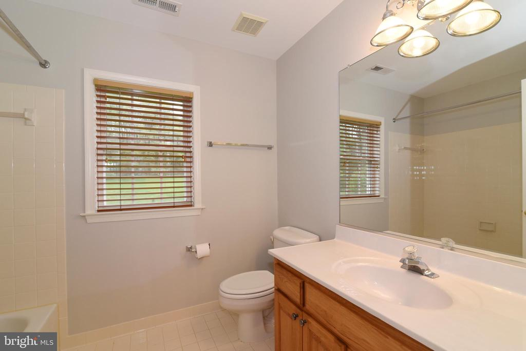 Hall Bathroom - 16820 CLARKES GAP RD, PAEONIAN SPRINGS