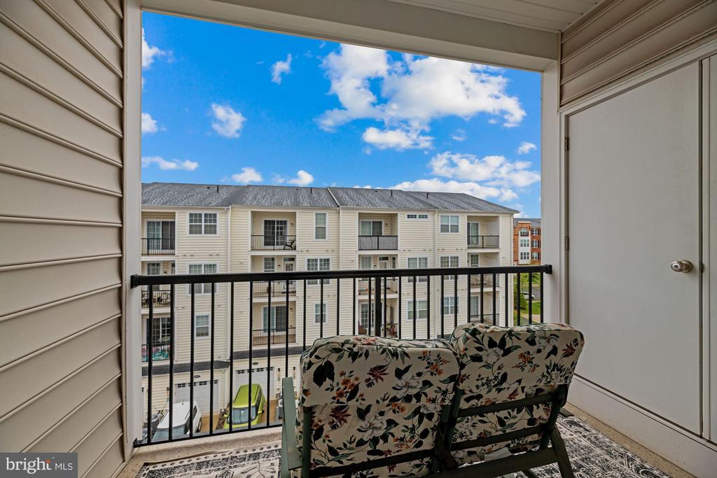 Relaxing, Calming, Soothing Private Balcony off BR - 43213 THOROUGHFARE GAP TER, ASHBURN