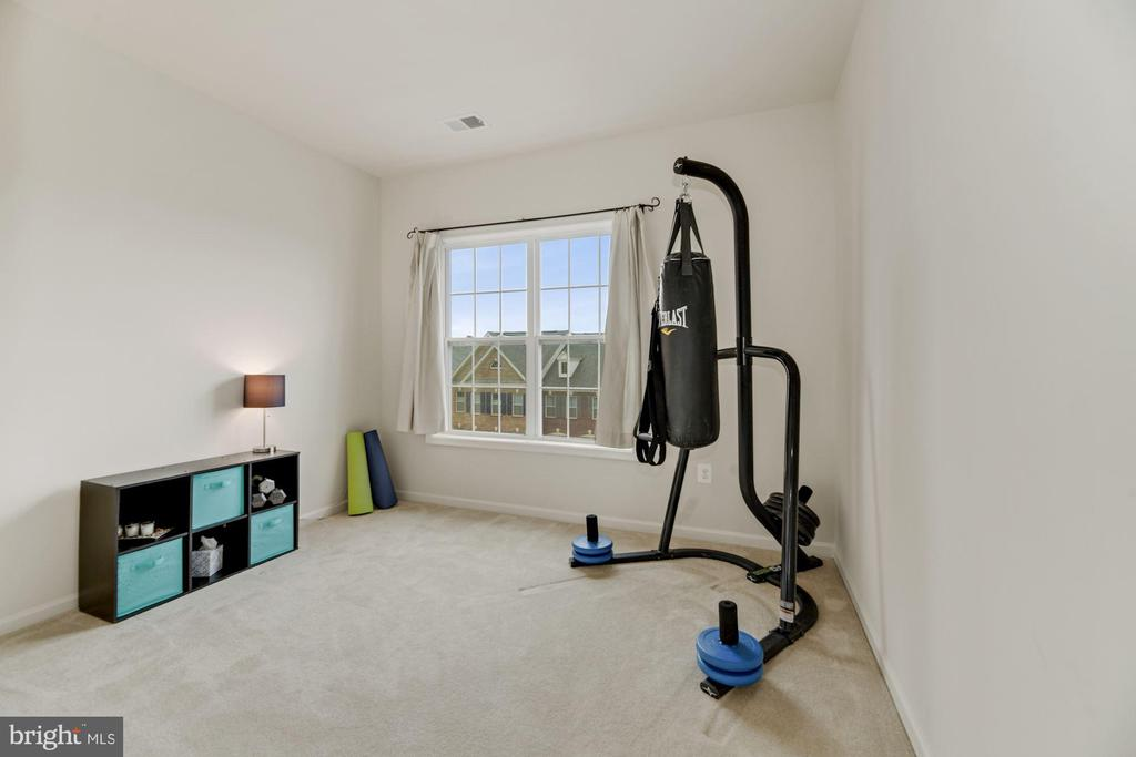 Bedroom #3 - Large Windows Allow in Lots of Light! - 43213 THOROUGHFARE GAP TER, ASHBURN