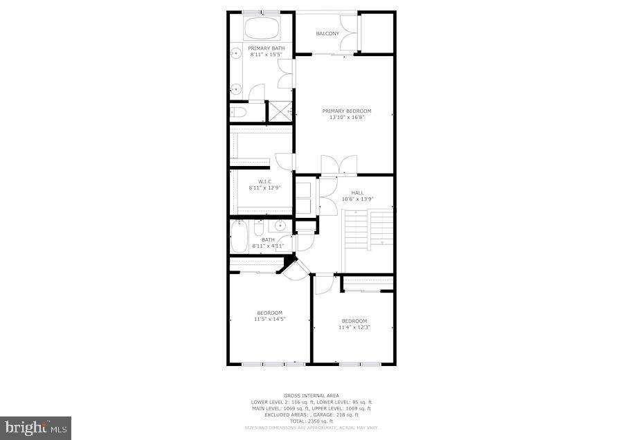 Floor Plan - Fourth Level - 43213 THOROUGHFARE GAP TER, ASHBURN