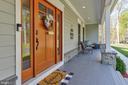 Front Door & Porch - 12329 PURCELL RD, MANASSAS