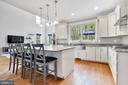 Kitchen Island - 12329 PURCELL RD, MANASSAS