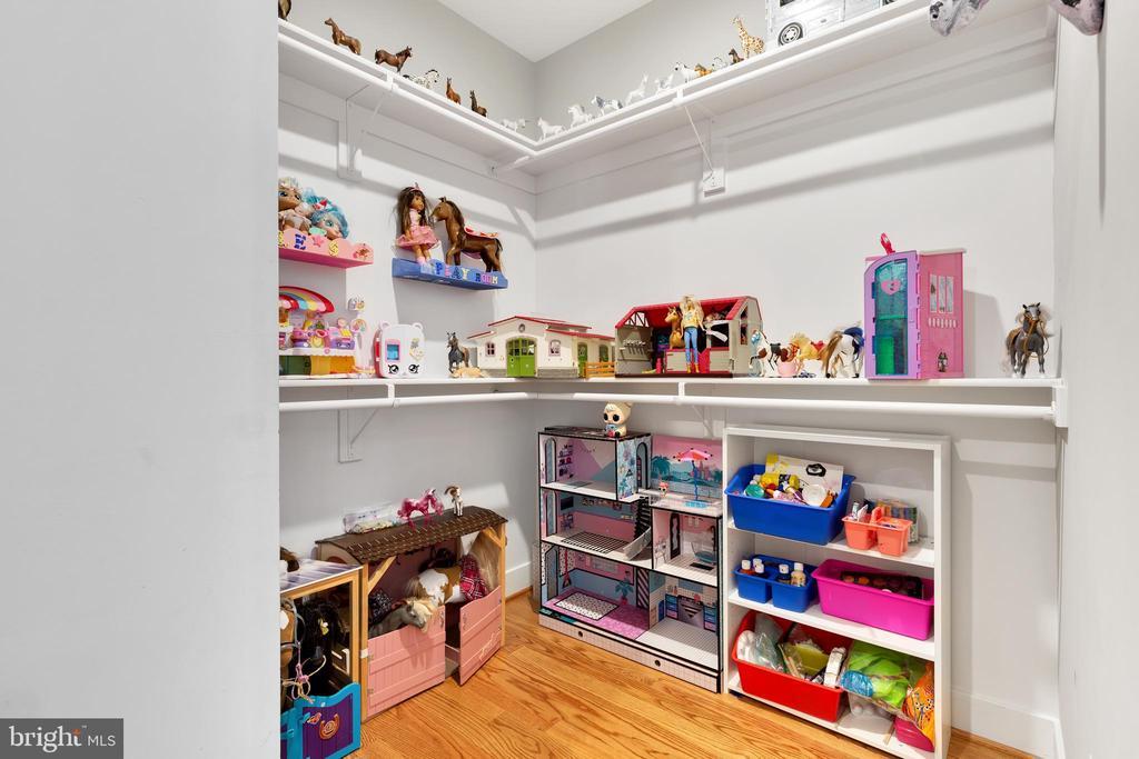 Main Level Bedroom's Walk in Closet - 12329 PURCELL RD, MANASSAS