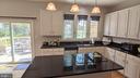 Kitchen with Nice View - 10481 COURTNEY DR, FAIRFAX