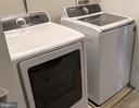 Upstairs Washer & Dryer - 10481 COURTNEY DR, FAIRFAX