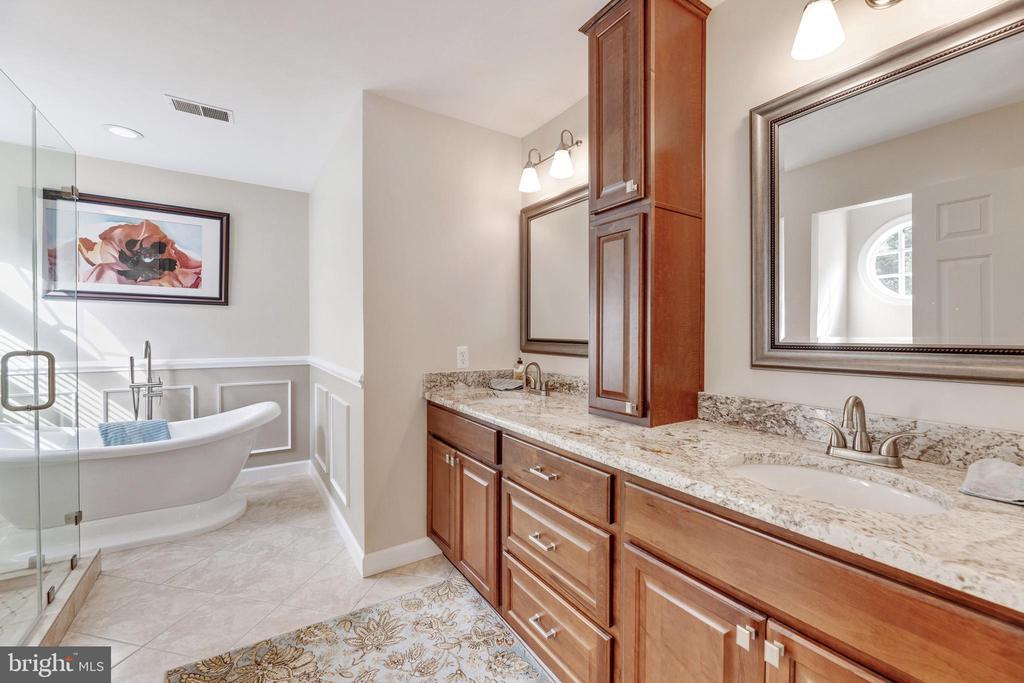 Primary Suite Bath - 16660 MALORY CT, DUMFRIES