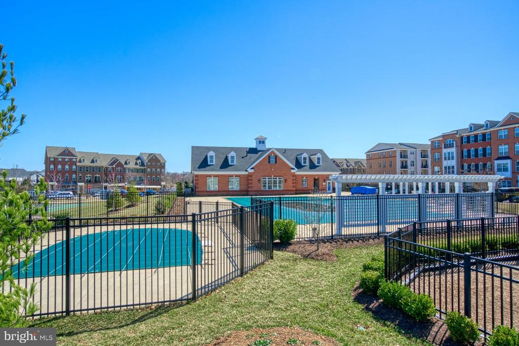The Community has Several Outdoor Pools - 43015 CLARKS MILL TER, ASHBURN