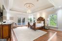 Luxurious Guest Bedroom - 612 RIVERCREST DR, MCLEAN