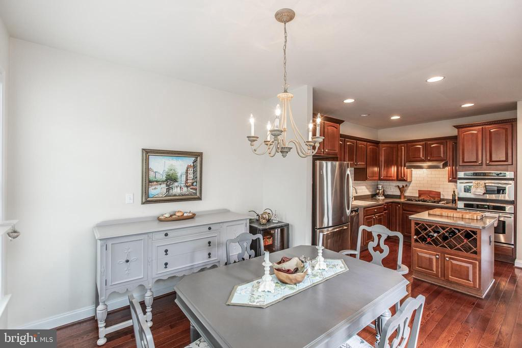 Gourmet Kitchen/Dining Combo! - 8921 TAPPEN MILL WAY, MANASSAS