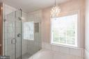 Primary Bathroom Frameless Shower! - 8921 TAPPEN MILL WAY, MANASSAS