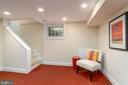 Lower Level Family Room - 224 N JACKSON ST, ARLINGTON