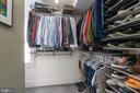 Owner's Walk-in Closet - 224 N JACKSON ST, ARLINGTON