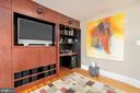 Built-in Entertainment Center Opens to a Work Spac - 224 N JACKSON ST, ARLINGTON
