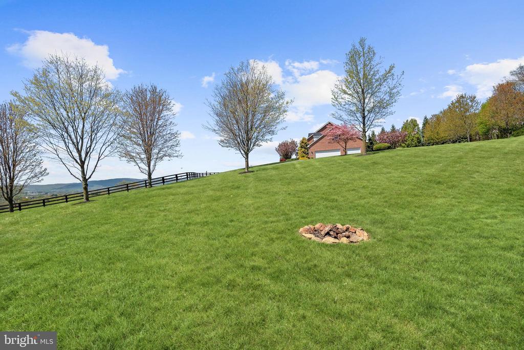 Landscaped Grounds | Fire Pit - 8329 MYERSVILLE RD, MIDDLETOWN