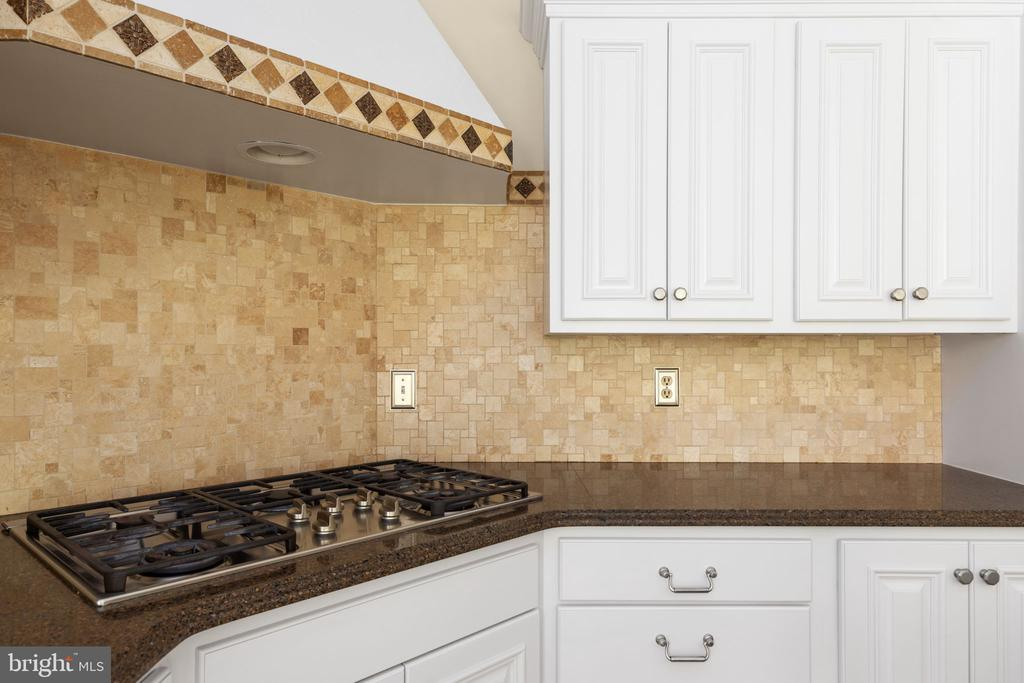 Kitchen with Stainless Cooktop - 2405 OAKMONT CT, OAKTON