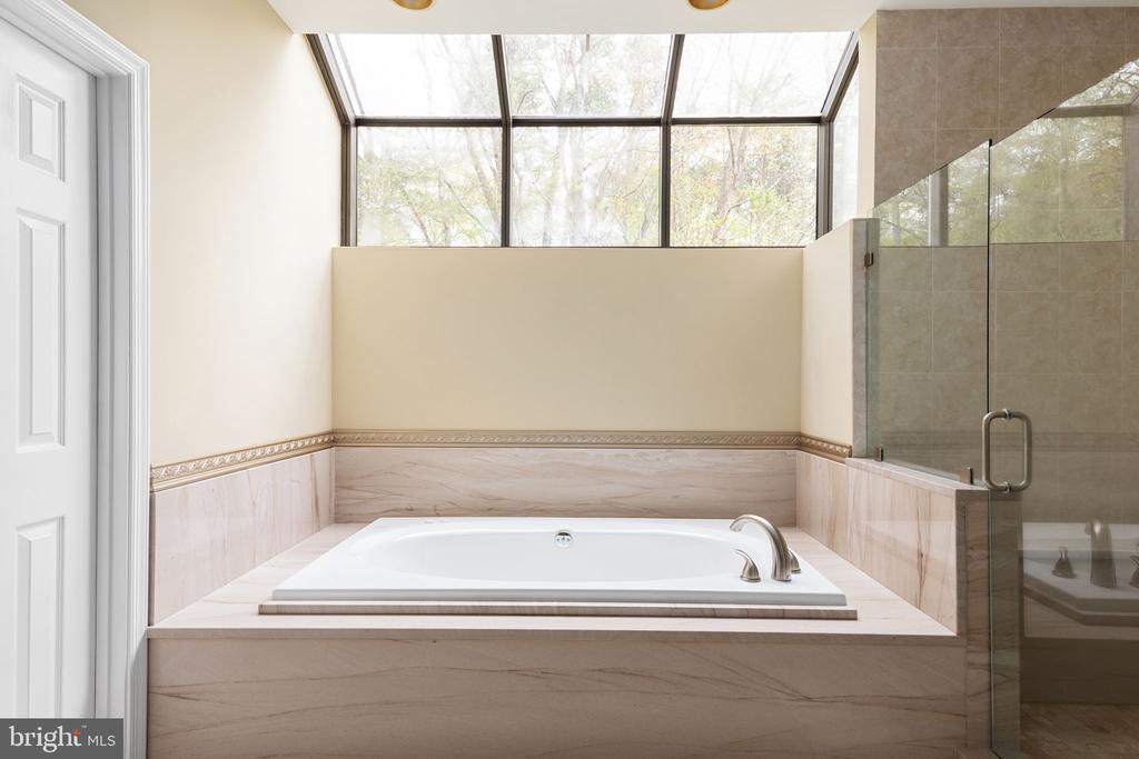 Primary Bath with Four Season Windows - 2405 OAKMONT CT, OAKTON