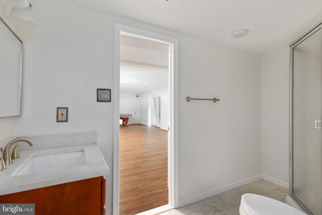 Lower Level Full Bath - 2405 OAKMONT CT, OAKTON