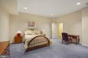 Bedroom #6 on Lower Level - 9211 BLACK RIFFLES CT, GREAT FALLS