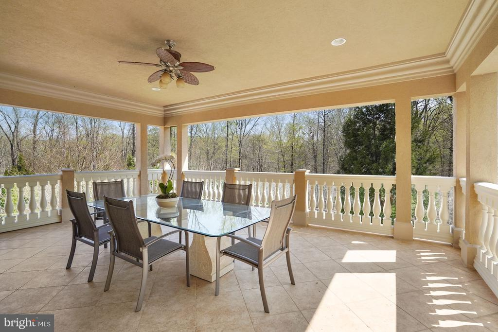 Terrace of Party Room - 9211 BLACK RIFFLES CT, GREAT FALLS
