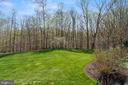 Lovely flat grounds; woods at rear - 9211 BLACK RIFFLES CT, GREAT FALLS