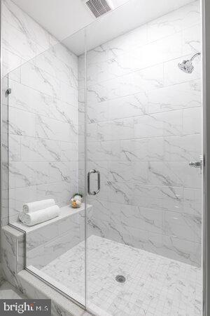 Walk In shower with Bench - 44691 WELLFLEET DR #304, ASHBURN