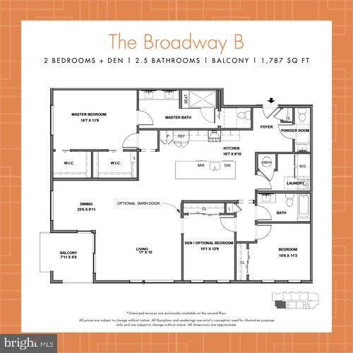 Broadway B Plan - 44691 WELLFLEET DR #304, ASHBURN