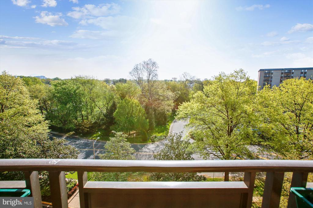 View from Balcony - 3100 S MANCHESTER ST #612, FALLS CHURCH