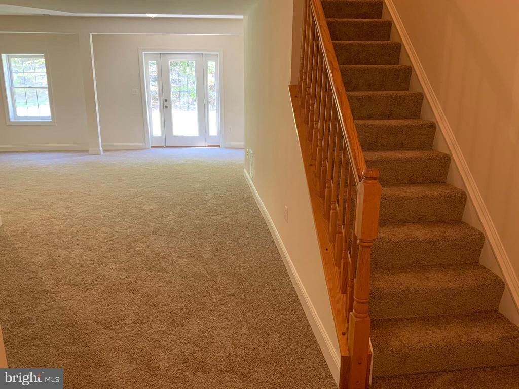 Stair to the basement - 3709 FIDELIS CT, TRIANGLE