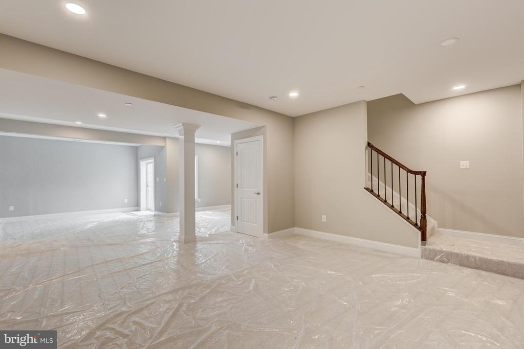 Optional fin bsmt For illustrative purposes only. - HOMESITE 3 FLORENCE RD, MOUNT AIRY