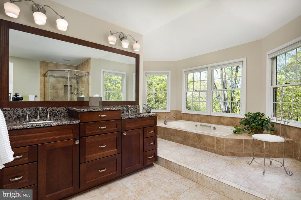 Updated Private Owner's Bath - 10654 CANTERBERRY RD, FAIRFAX STATION