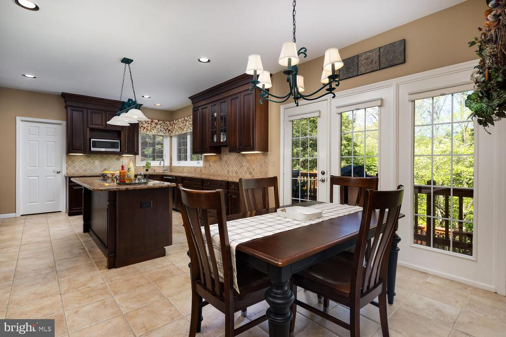 Remodeled Chef's Kitchen! - 10654 CANTERBERRY RD, FAIRFAX STATION
