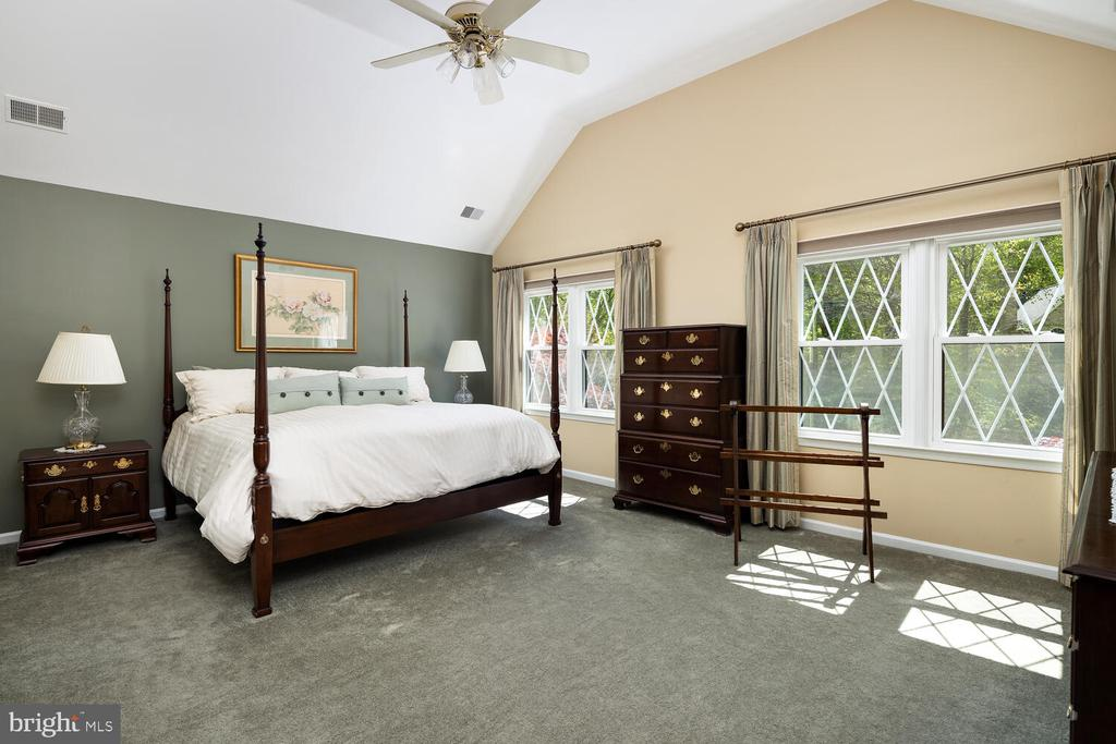 Huge Master Bedroom Suite w/Volume Ceiling - 10654 CANTERBERRY RD, FAIRFAX STATION