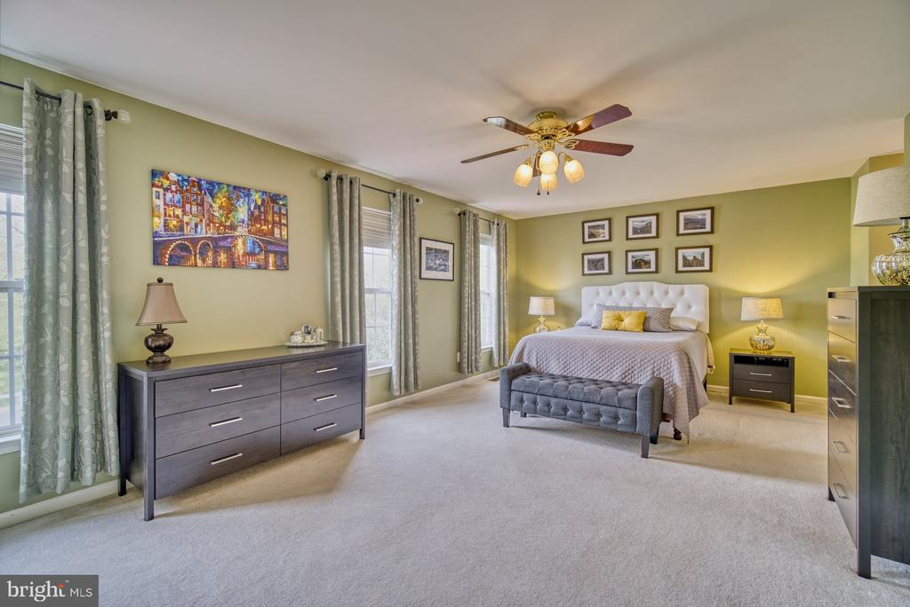 Huge primary bedroom - 26216 LANDS END DR, CHANTILLY