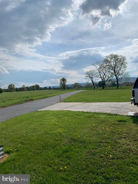 View from front yard - 10612 SHEELEY RD, THURMONT