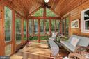 Sunroom Addition - Walk-out to Deck - 604 RIDGEWELL WAY, SILVER SPRING