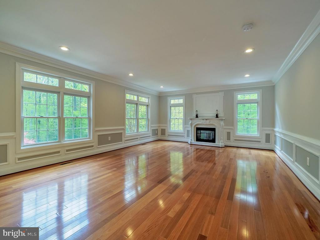 Embassy sized living room with 1 of 6 fireplaces - 11009 HAMPTON RD, FAIRFAX STATION