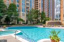 Sunny Pool Area - 11990 MARKET ST #411, RESTON