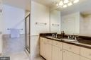 Double Vanity in Primary Bedroom - 11990 MARKET ST #411, RESTON