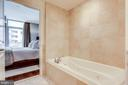 Soaking Tub in Primary Bedrooms - 11990 MARKET ST #411, RESTON