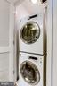 Full Size Front Load Washer and Dryer - 11990 MARKET ST #411, RESTON