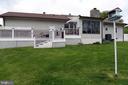 Outdoor living space - 312 SYCAMORE DR, FREDERICKSBURG
