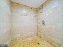 One of two full baths in lower level - 11009 HAMPTON RD, FAIRFAX STATION