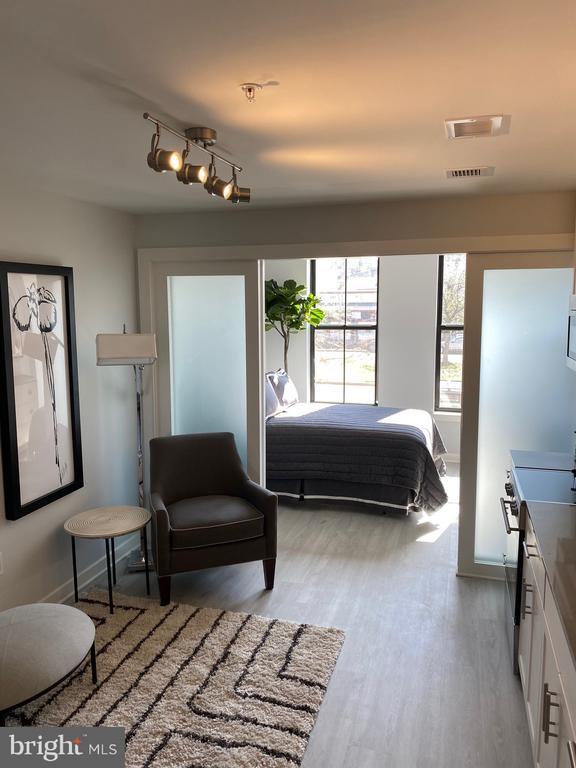Studio living with abundant natural light - THE RUSHMORE-1220 PENNSYLVANIA AVE AVE SE, WASHINGTON