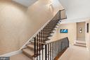 Stairs to third floor - 2208 KALORAMA RD NW, WASHINGTON