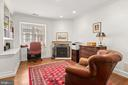 Primary bedroom sitting room/office - 2208 KALORAMA RD NW, WASHINGTON