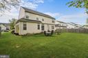 Level, well maintained side and back yard - 2104 BEAR CREEK CT, FREDERICK